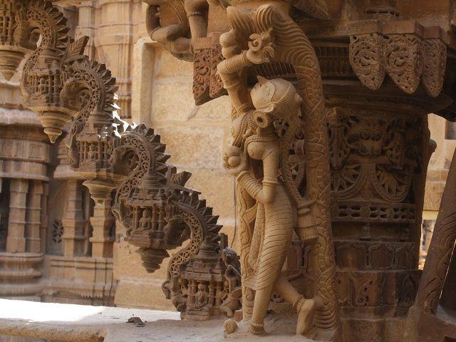 Temples inside Jaisalmer city