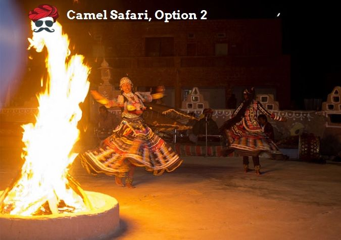 Camel Safari with night stay