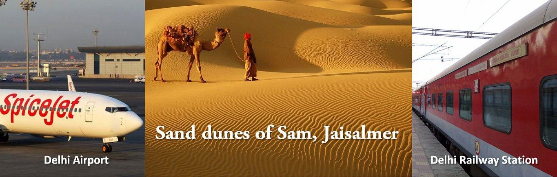 Jaisalmer Delhi tour