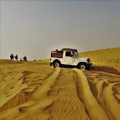 Desert safari at Sam Jaisalmer