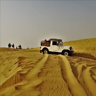 Desert safari at Sam Jaisalmer