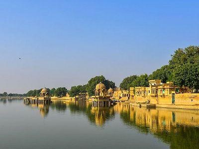 Gadisar lake Jaisalmer rj