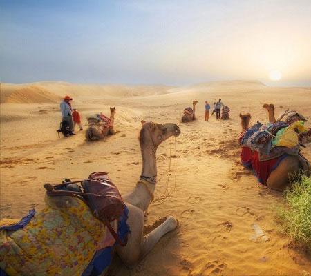 Jaisalmer desert view