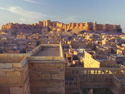 Jaisalmer golden fort view from distance