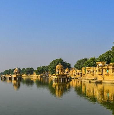 gadisar lake Jaisalmer city