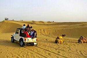 Jaisalmer desert sagari sam