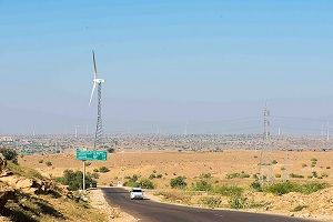 Jaisalmer to sam road