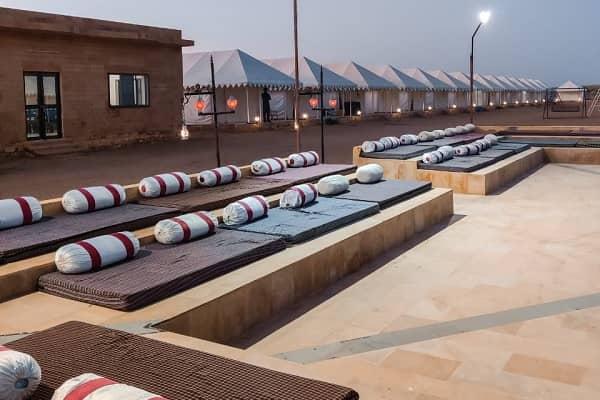 desert camp view Jaisalmer